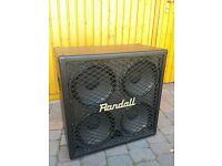 rand049p Tuki Padded Cover for Randall RD412 4x12 Straight Speaker Cabinet