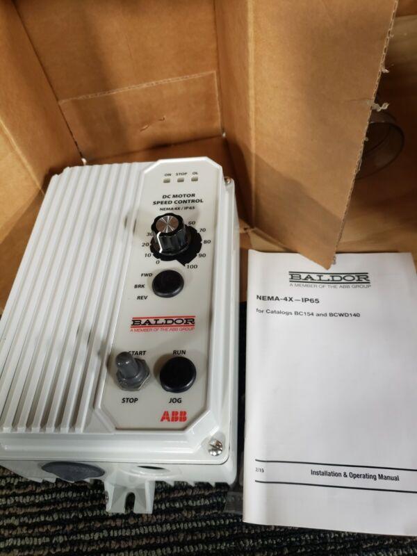 BALDOR DC Motor Speed Control