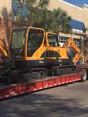 Used Hyundai Mini Excavator R55
