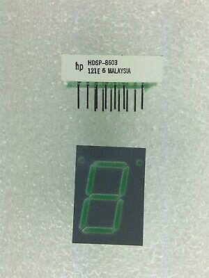 Hdsp-8603 Hp Led 7-seg 20mm Cc Green 18pin Dip 6 Pieces