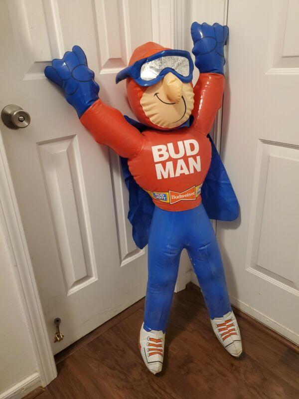 Budweiser Bud Man inflatable store display 1989
