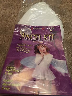 Angel's Costume Kit Costume Accessories Halo & Wings Prototype Only Halloween ](Angel Halloween Accessories)