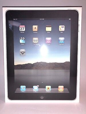 Characterize New Sealed Apple iPad 1st Gen 32GB, Wi-Fi, 9.7in -Malicious - Collectible Item