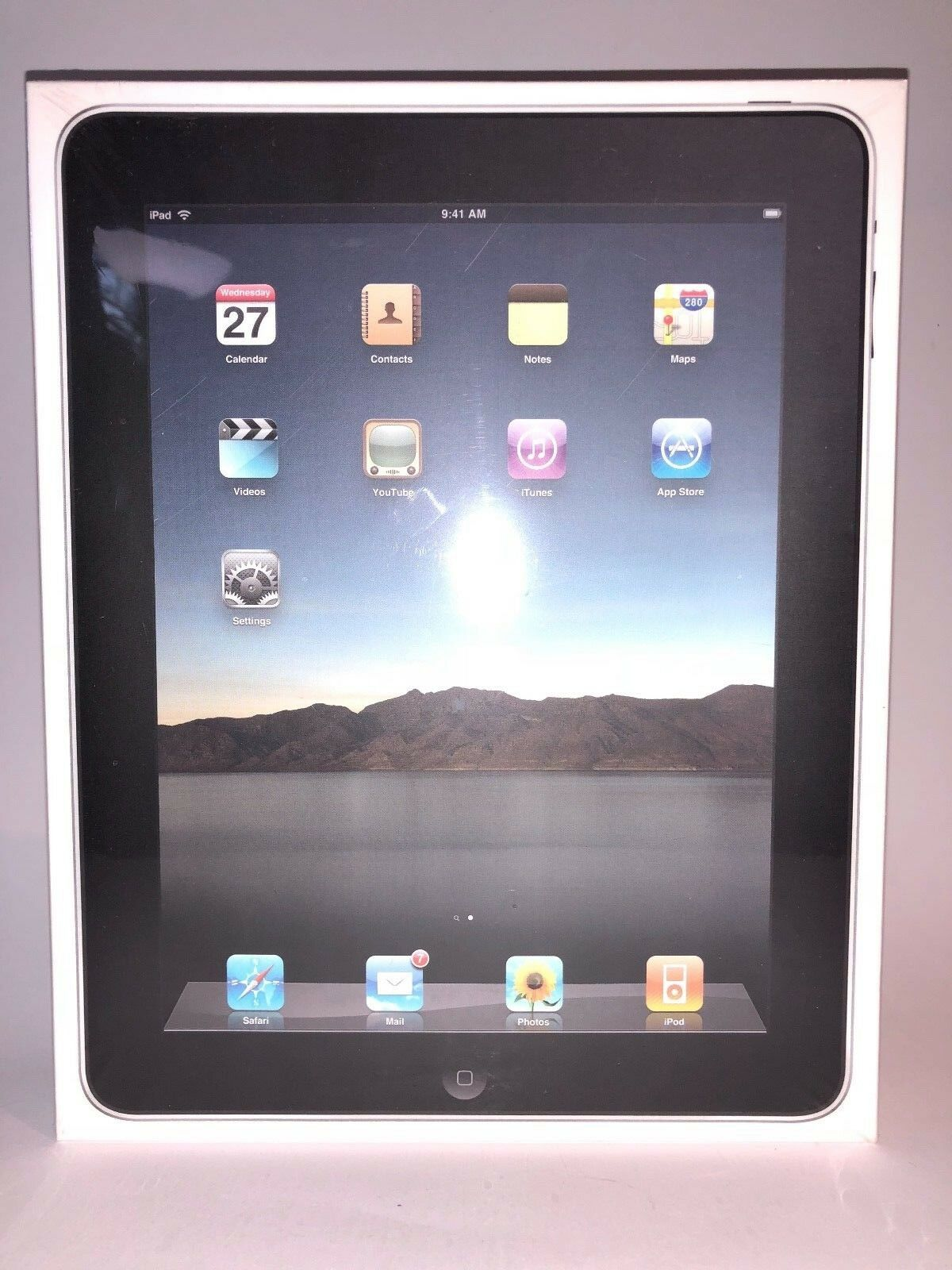 Brand New Sealed Apple iPad 1st Generation 16GB, Wi-Fi, 9.7in - Collectible Item