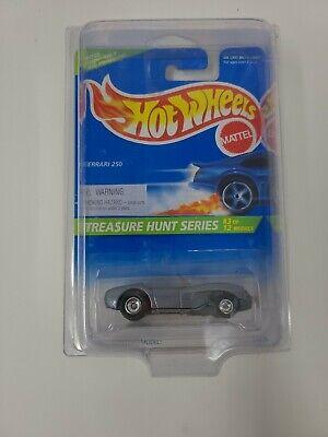 Rare 1995 Hot Wheels Treasure Hunt Ferrari 250 #3/12  Protective Case