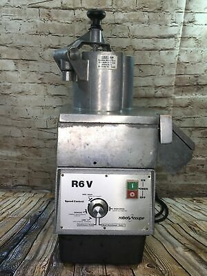 Robot Coupe R6v Commercial Continuous Feed Food Processor Used Condition