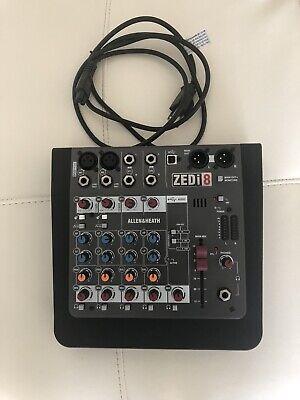 Allen Heath/Zedi-8 Hybrid Mixer And Heath