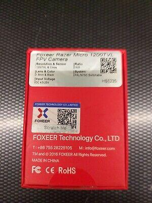 Foxeer fpv camera razor micro drone quadcopter wing rc plane car model