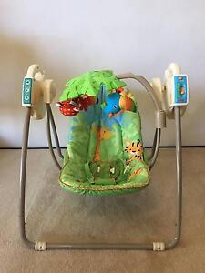 Fisher Price Rainforest Open Top Take-Along Swing Five Dock Canada Bay Area Preview