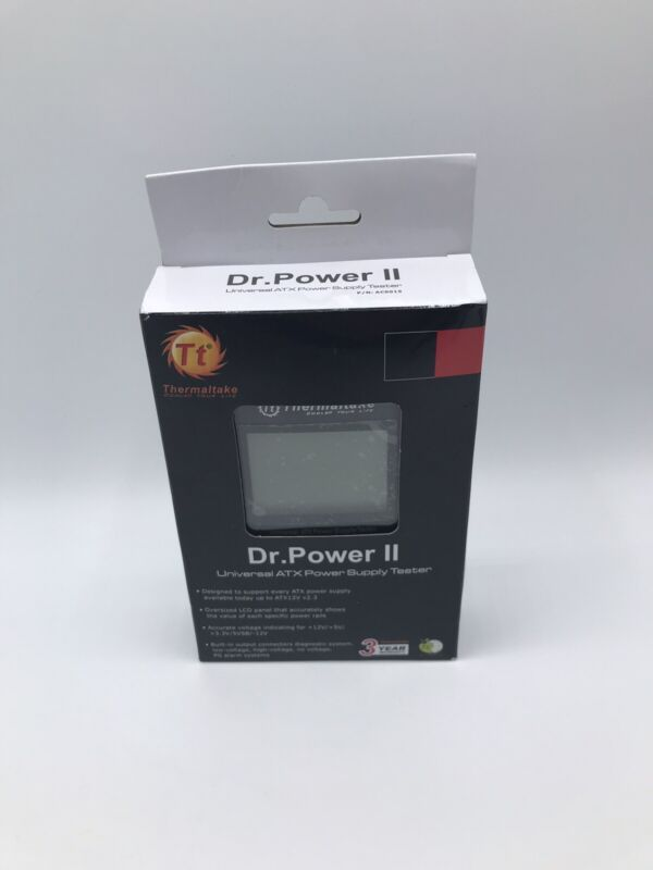 Thermaltake Dr. Power II Automated Power Supply Tester Oversized LCD for All