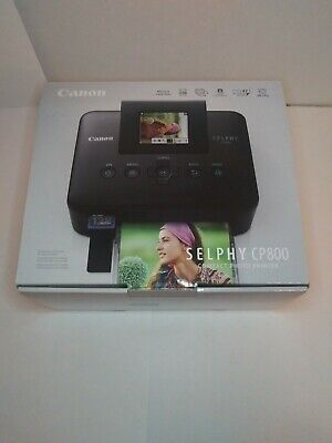 Canon Selphy CP800 Compact Digital Photo Inkjet Printer - With Power Cord/USB Compact Photo Printer Usb