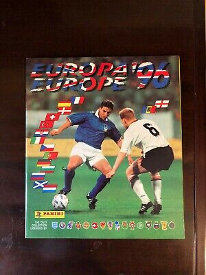 Album Panini Euro 96 Completo Ottimo Complete Very Good Condition