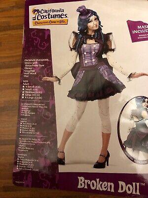 Ladies Broken Doll Rag Doll Puppe Kostüm Gr. - Ragdoll Puppen Kostüme