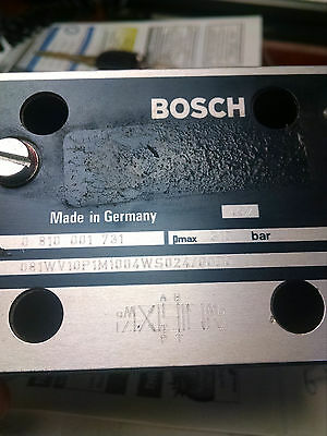 Bosch Hydraulic Valve