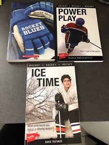 Hockey paperback novels $5 each