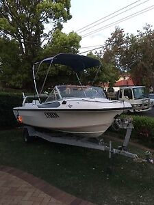 14FT Seafarer Boat 70HP Bass Hill Bankstown Area Preview
