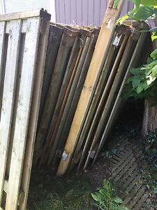 Approx 22, 8' fence panels plus a few extras