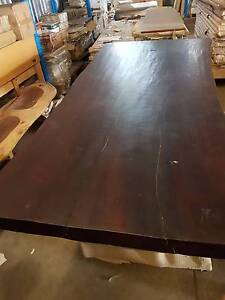 CLEARANCE!! NEW NATURAL SOLID TIMBER SLAB RUSTIC DINING TABLE Acacia Ridge Brisbane South West Preview