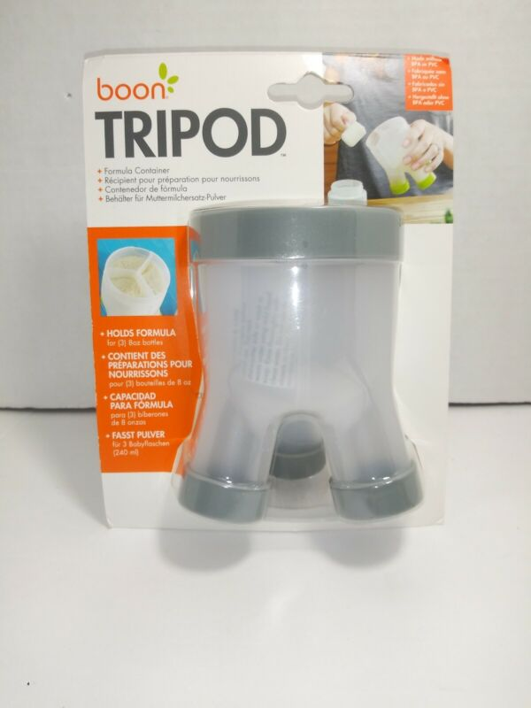 Boon Tripod Formula Container - Grey new