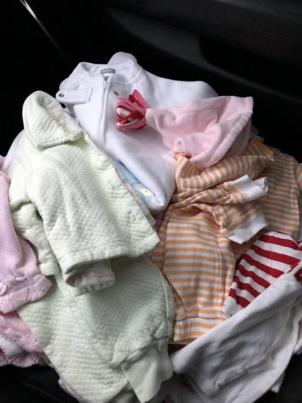 Baby Girl Clothes 3-6 Months 14 Piece Lot: Carter's, Baby Gap, Old Navy, Tcp