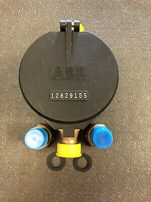 Abb 58x34 C700 Direct Read Cubic Feet Water Meter And Couplings