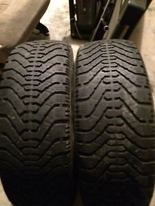 8 Winter tires on rims! 100$ Obo takes them all!