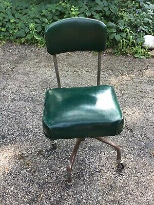 Vintage Green Steelcase Office Chair