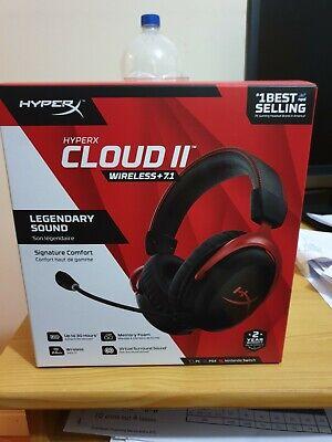 HYPERX Cloud II WIRELESS 7.1 Gaming Headset HHSC2X-BA-RD/G Cloud 2...