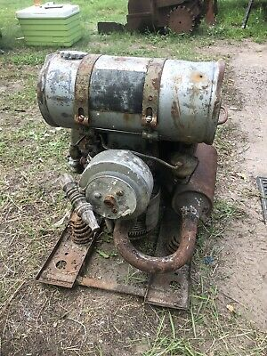 Rare Vintage 1940s Military Homelite Hra Generator Hit Miss Gas Engine