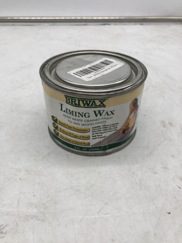 Briwax Liming Wax, 8 ounce ( dented can )