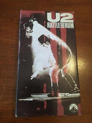 U2 RATTLE AND HUM VHS 1989 comprar usado  Enviando para Brazil