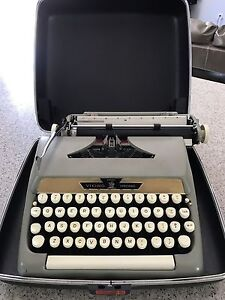 Vintage Eatons Manual Portable Typewriter, Excellent Condition
