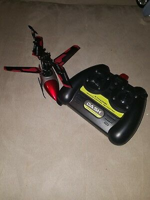 Conventions - Dash 3-Channel Remote Controlled Helicopter Drone - Ruby