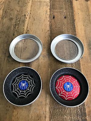 2 Pack Of Spider Man Marvel Fidget Hand Spinner Kids Toy Focus Adhd Autism