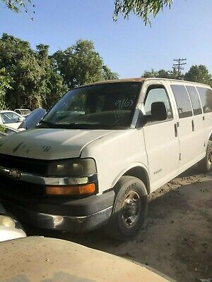 2005 CHEVY EXPRESS 3500 AC HEAT CLIMATE CONTROL
