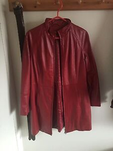 Women's Danier Leather Jacket Coat