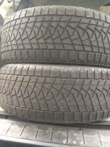 2-235/ 55R18 Bridgestone winter tires