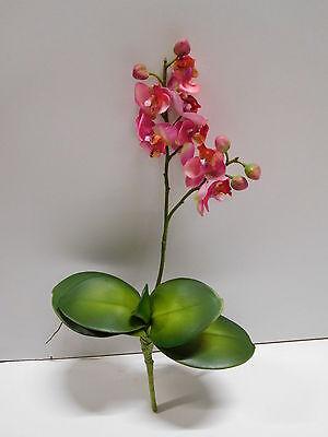 24 x Orchidee Phalaenopsis Seidenblume Kunstblume pink L 32 cm 182246 F2