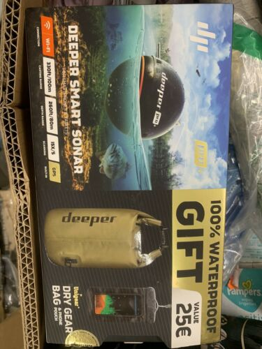 Deeper DP1H10S10 Pro GPS Wi-fi Wireless Smart Sonar Fish FIn