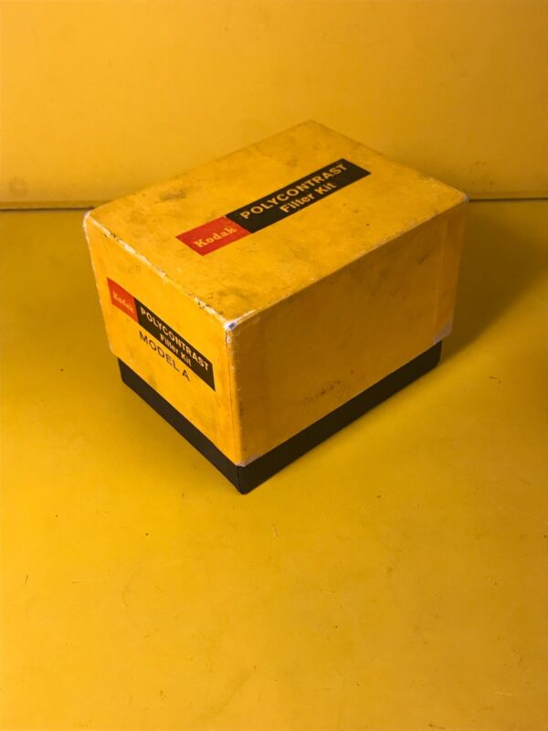 KODAK POLYCONTRAST KIT MODEL A IN BOX With FILTER COMPUTER