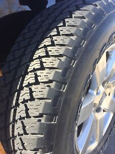 rims and tires size 18.