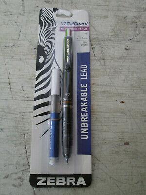 Zebra Unbreakable Led Mechanical Pencil