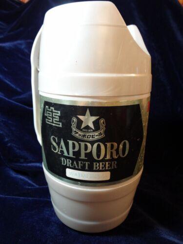 Vintage - SAPPORO - Draft Plastic Handled - Keg Barrel Beer Can