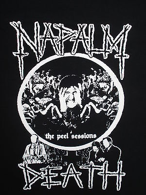 Napalm Death Grind Metal Thrash Shirt Choose Your Size S/M/L/XL Peel Sessions