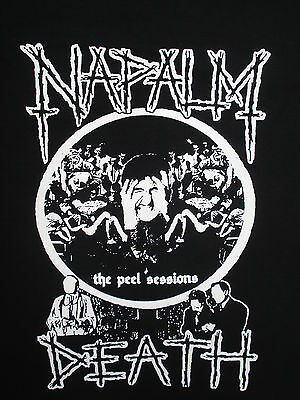 Napalm Death Grind Metal Thrash Shirt Choose Your Size S/M/L/XL Peel Sessions