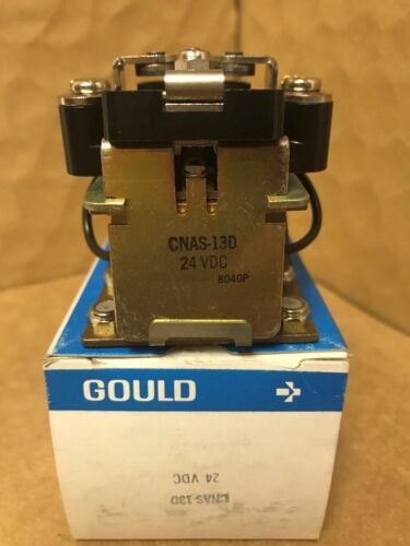 Allied Control /Gould CNAS-13D Relay , 24VDC