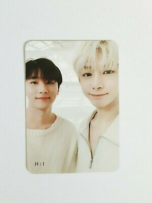 "K-POP MONSTA X Mini Album ""WE ARE HERE"" Official HyungWon I.M Photocard"