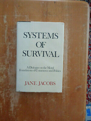 Systems of Survival by Jane Jacobs HC/DJ for sale  Shipping to India