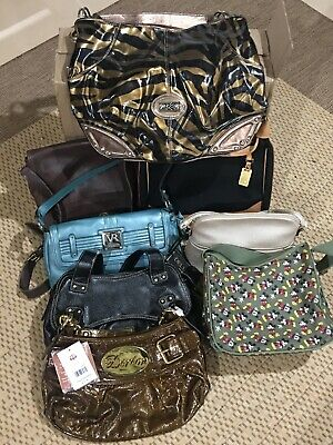 Wholesale Lot Of 8 Purses Handbags NWT And EUC Coach Dooney Disney And More