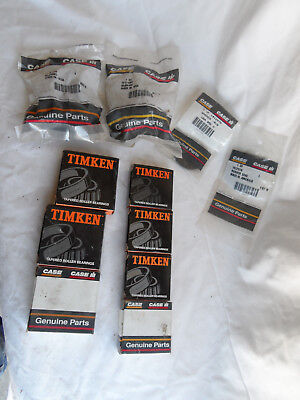 Lot Of Misc. Case Timken Parts Bearings 12610 Lm48510 12649 618024r1 618023r91
